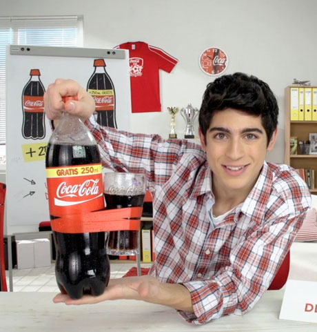 Coca-Cola, megacampagna adv per 250 ml in più (gratis)