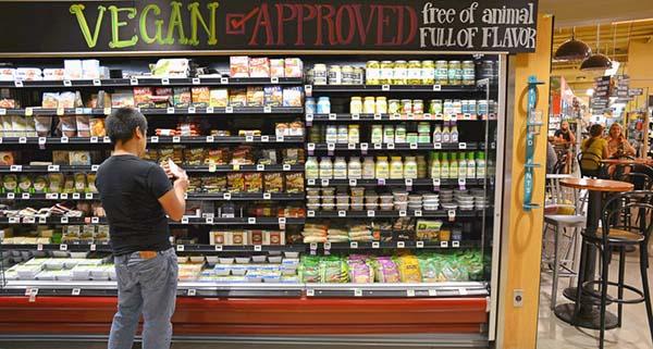 Bio, vegan e veggie: è boom anche in Italia
