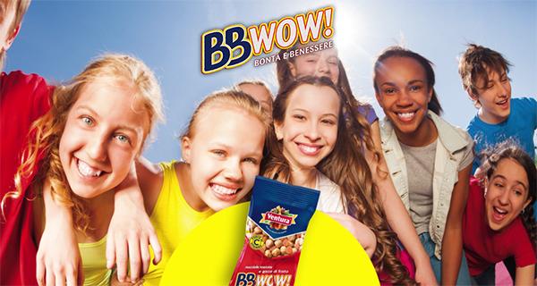 Arriva BBWOW!, nuova linea di snack per teenager