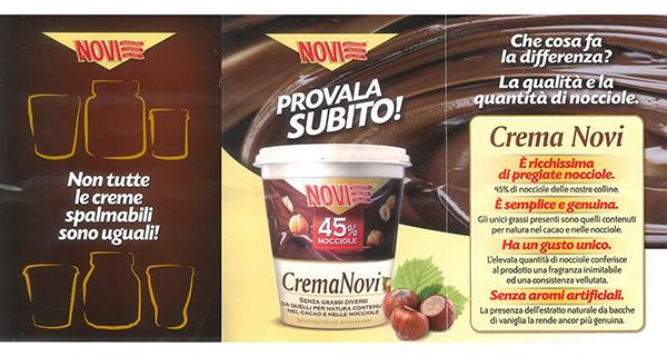 """Novi sfida Nutella: """"Non tutte le creme sono uguali"""""""