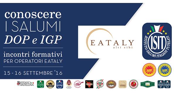 Salumi, Eataly e i Consorzi insieme per il Made in Italy