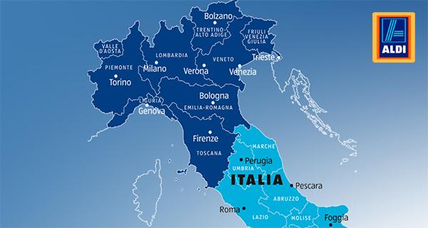 Le prime mosse di Aldi in Italia