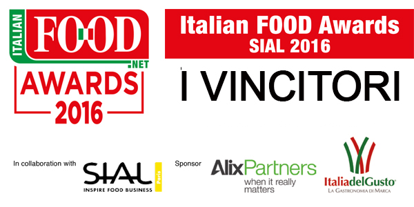 Italian FOOD Awards SIAL 2016, ecco i vincitori