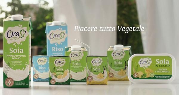 Unigrà lancia i prodotti a base vegetale OraSì