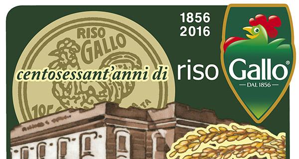 Riso Gallo, 160 di storia e un francobollo