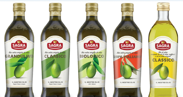Olio d'oliva, Sagra torna in Tv e rinnova il packaging