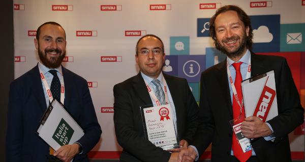 Andriani vince il Premio Innovazione a SMAU Napoli