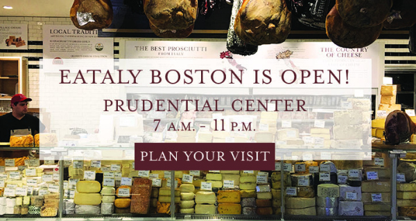 Eataly sbarca a Boston