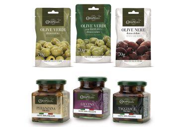 carapelli olive da tavola