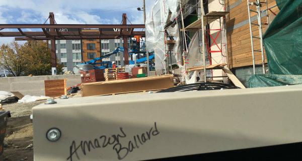 Amazon drive-up, notizie e misteri dal cantiere di Seattle