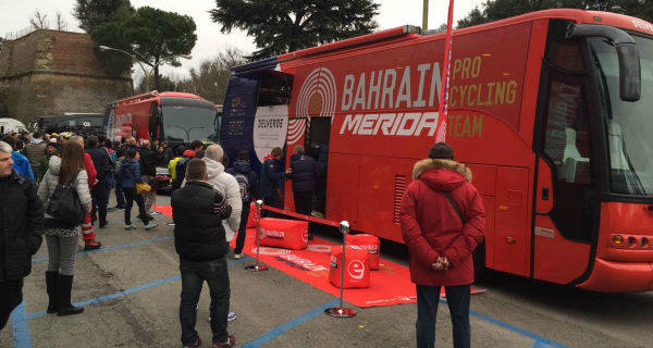 Delverde fornitore del Bahrain Merida Cycling Team