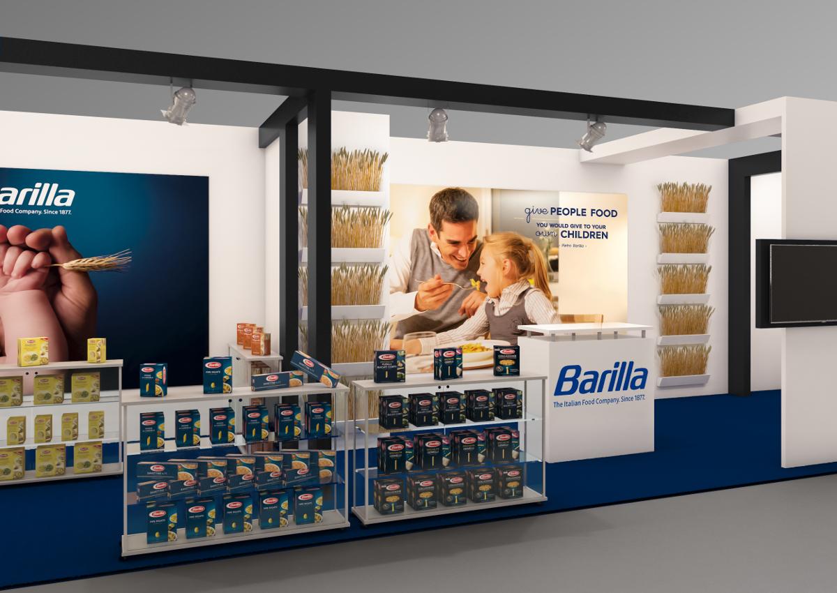 Barilla ha presentato la Pasta Bio a Cibus Connect