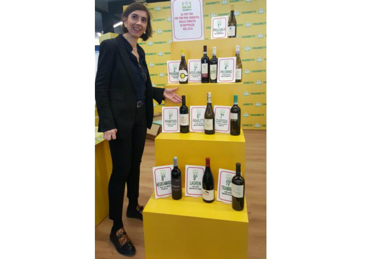 Vino, la top ten delle vendite nel 2016