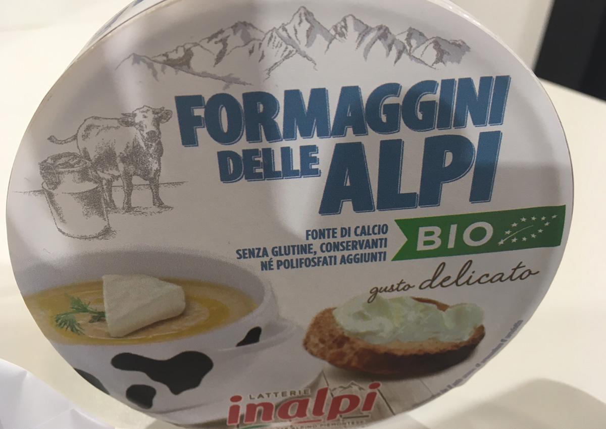 Latterie Inalpi lancia sul mercato i Formaggini Bio