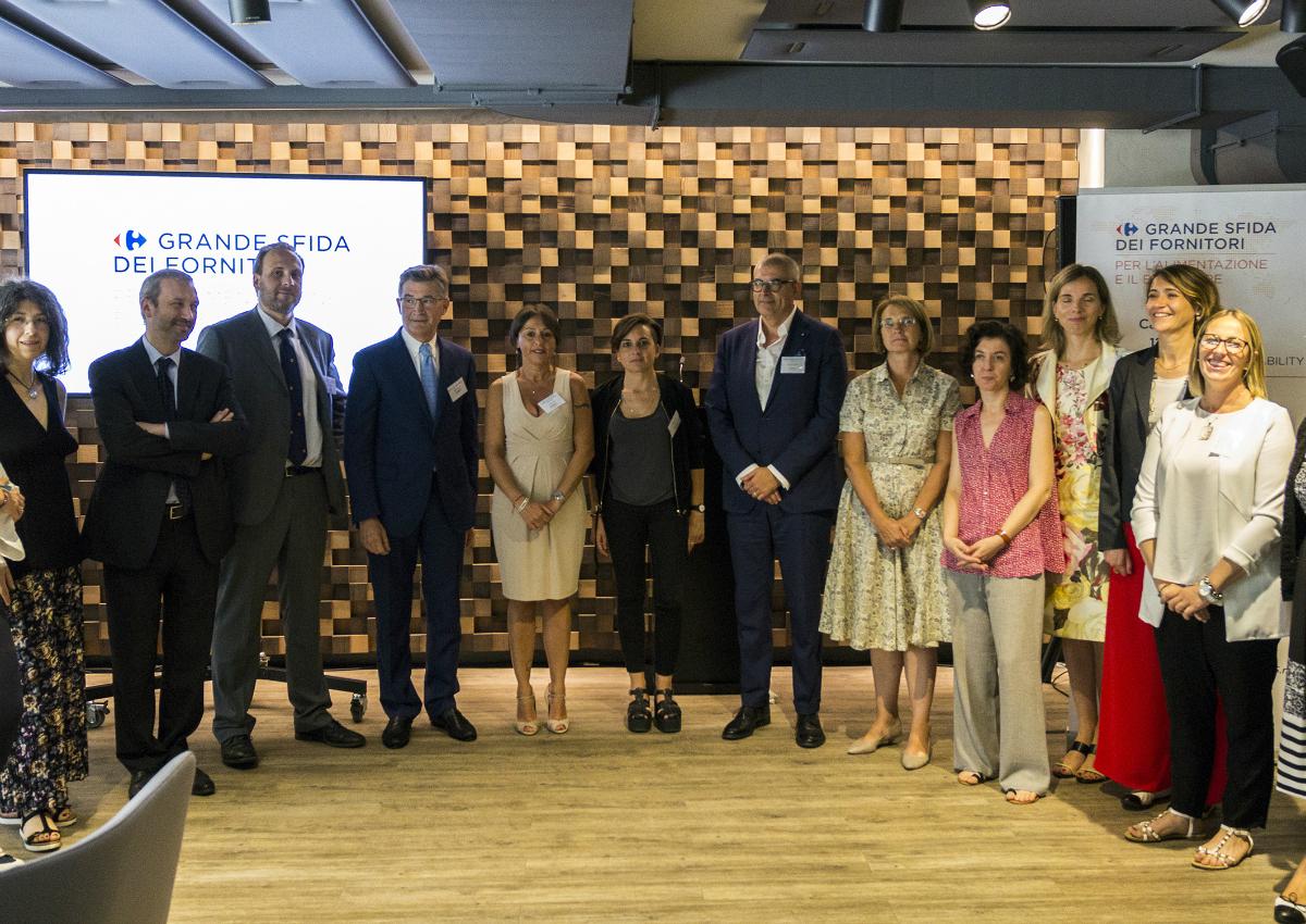Carrefour Italia premia i migliori progetti di benessere alimentare