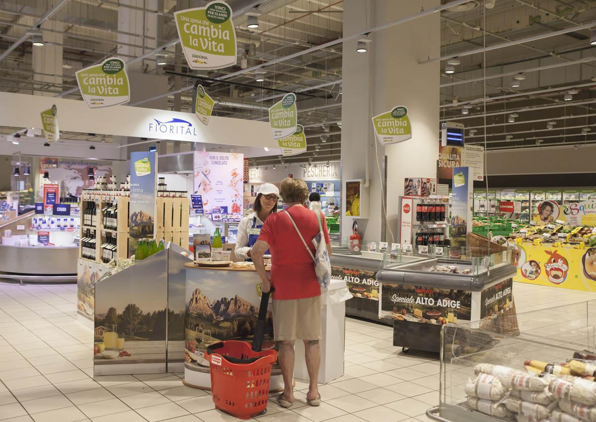 Una spesa che ti porta in Südtirol
