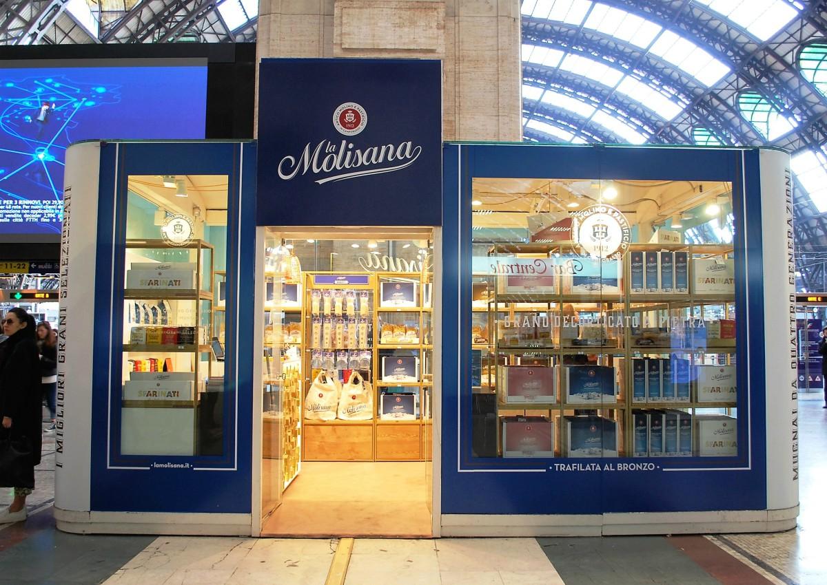 La Molisana, al via un temporary store a Roma Termini