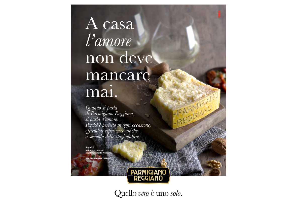 Il Parmigiano Reggiano cambia look