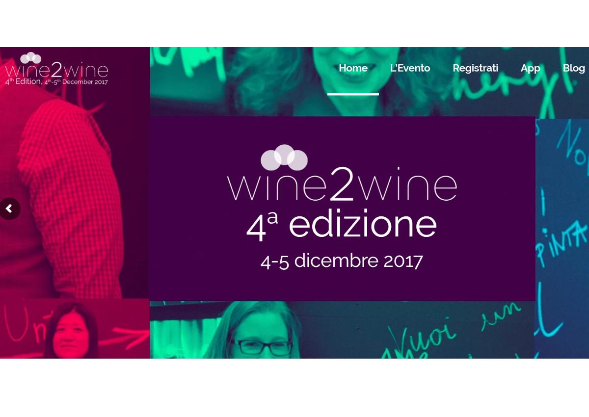 Tutti gli appuntamenti di Wine2Wine
