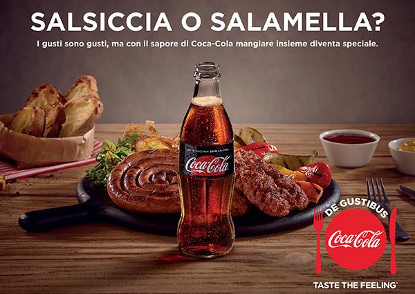 Coca-Cola accende il dibattito sul cibo