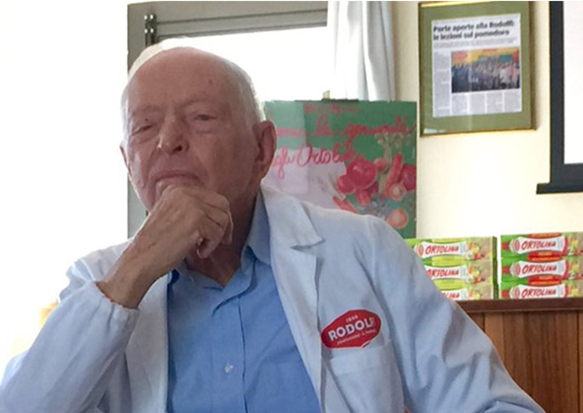 È morto Giuseppe Rodolfi
