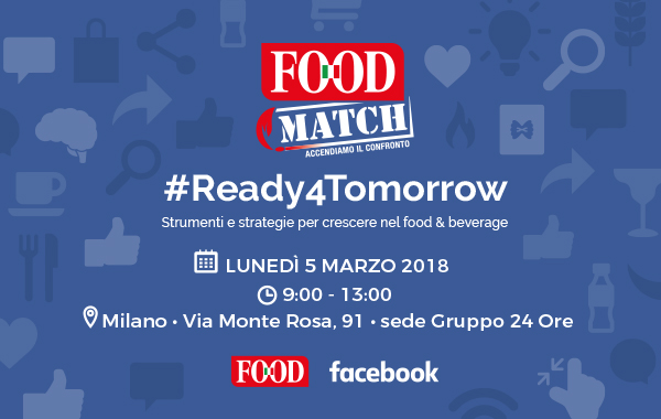 Food Match 2018, il ruolo dei social media