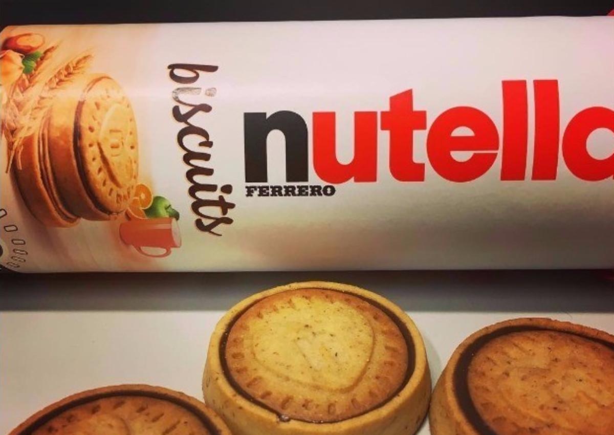 Ferrero lancia i Nutella Biscuits