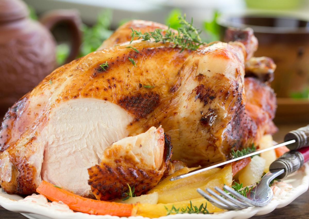 Pollo e tacchino, i consumi si impennano