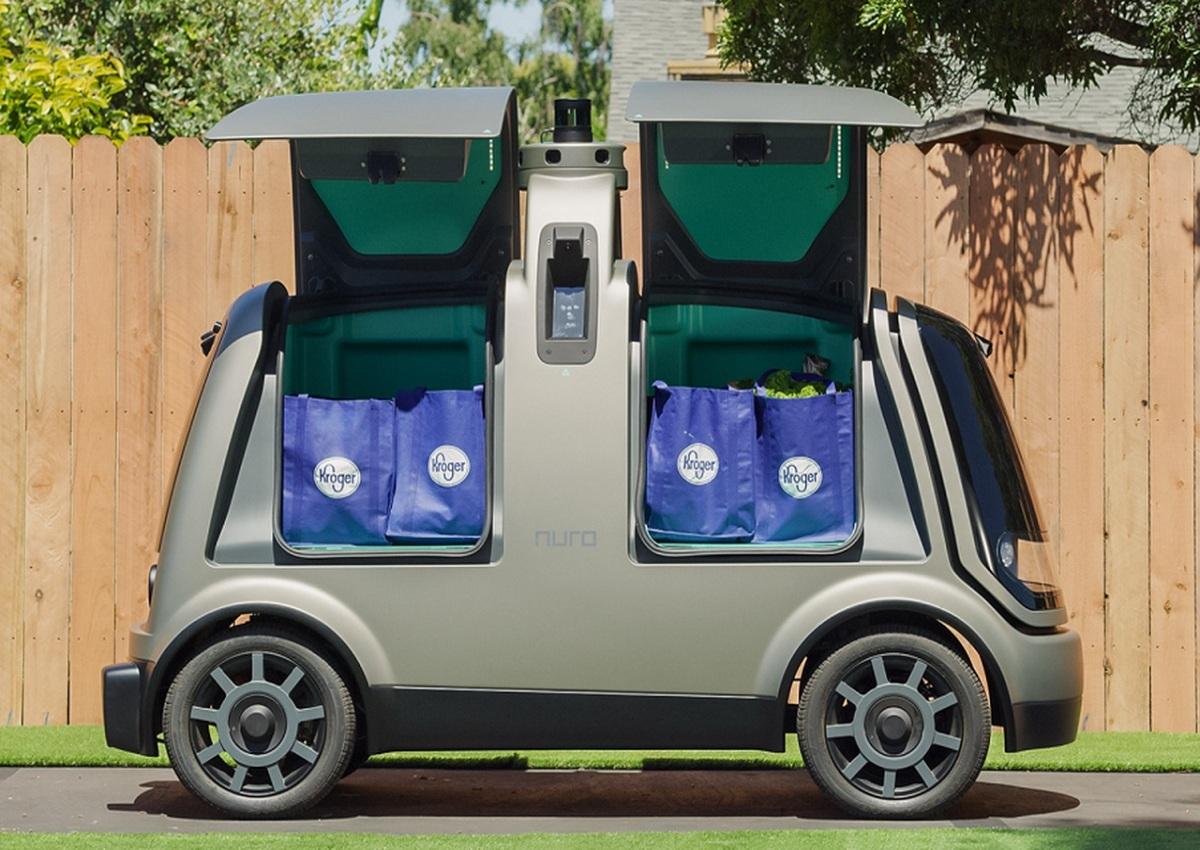 Kroger, il futuro del delivery è senza conducente