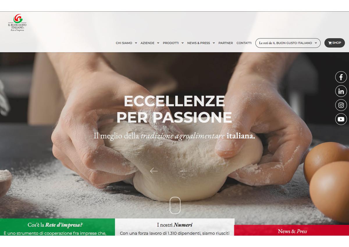 Buon Gusto Italiano, il nuovo sito è online