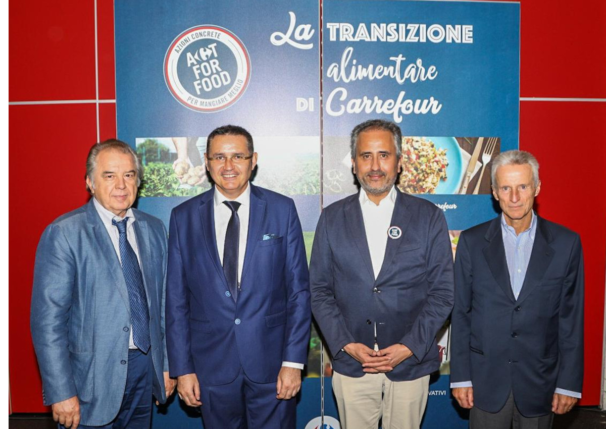 Carrefour, parte il progetto Act for food
