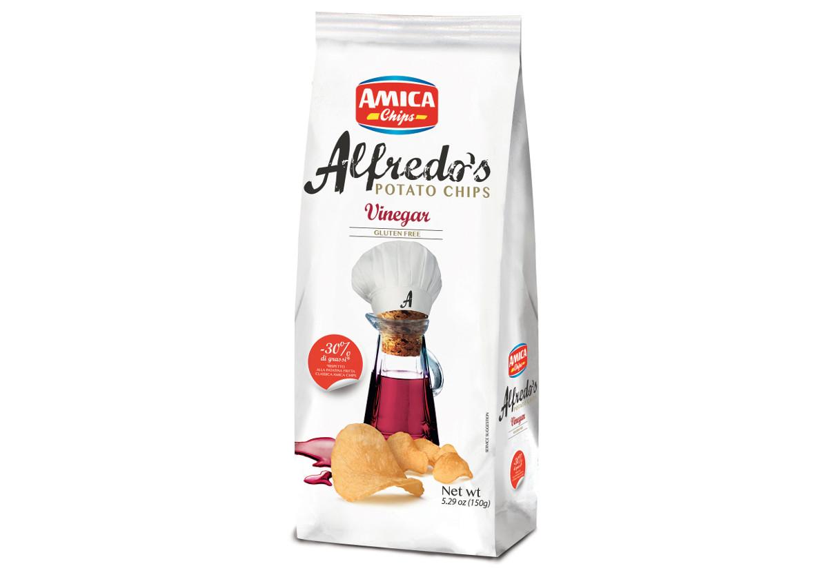 Amica Chips, Alfredo's Chips Vinegar-Italian Food Awards-Sial 2018