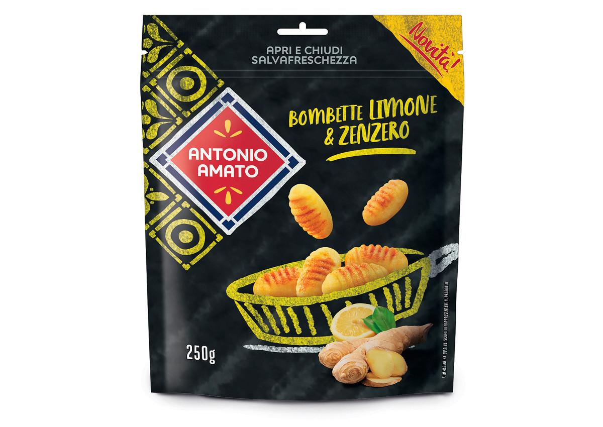 Antonio Amato, Bombette with lemon & ginger-italian Food Awards-Sial 2018