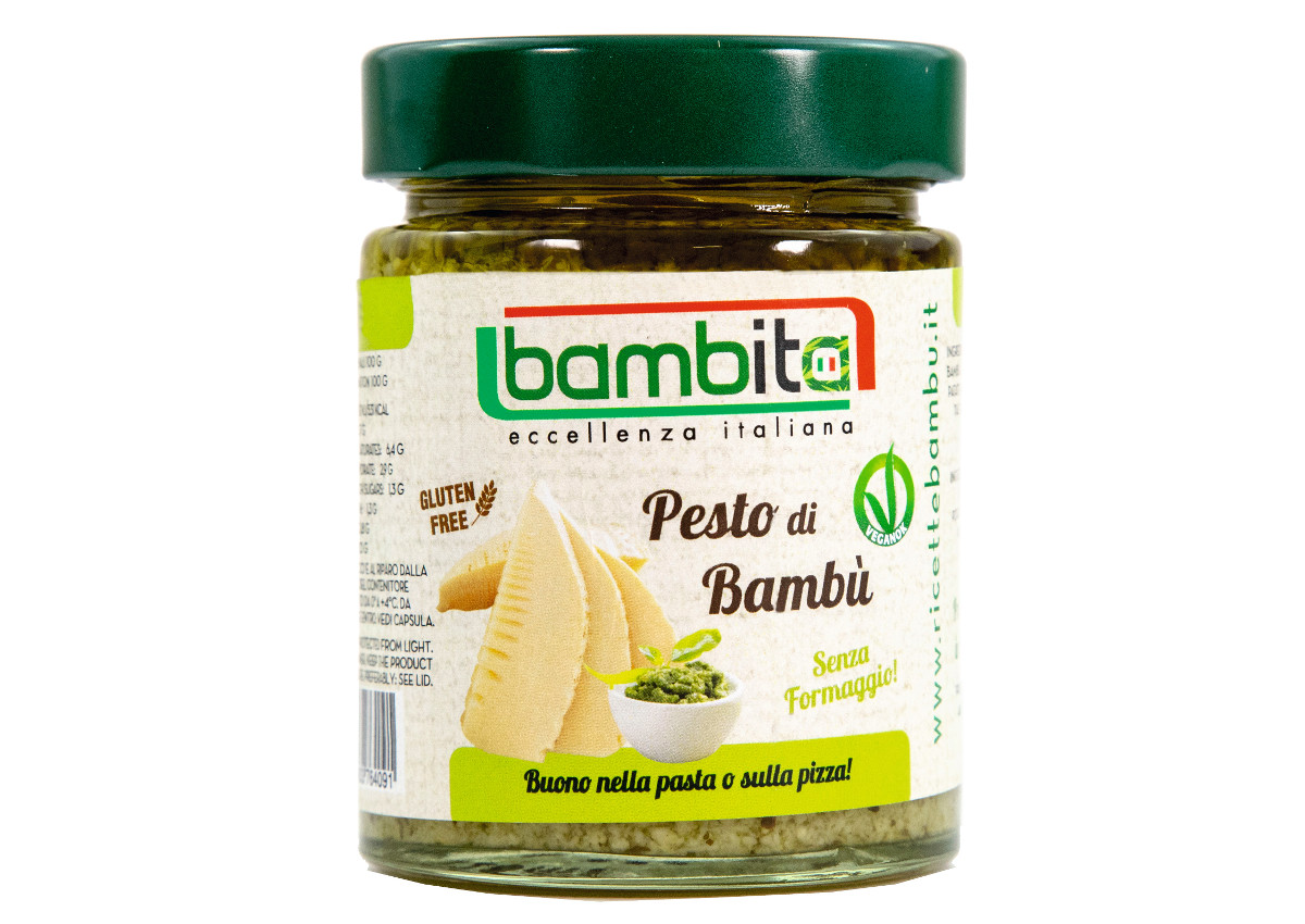 Consorzio BAMBU' Italia S.P.A., Bamboo Pesto-Sial 2018-Italian Food Awards