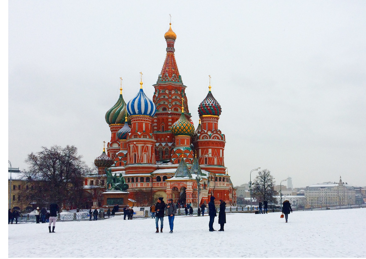 Centinaio in visita in Russia