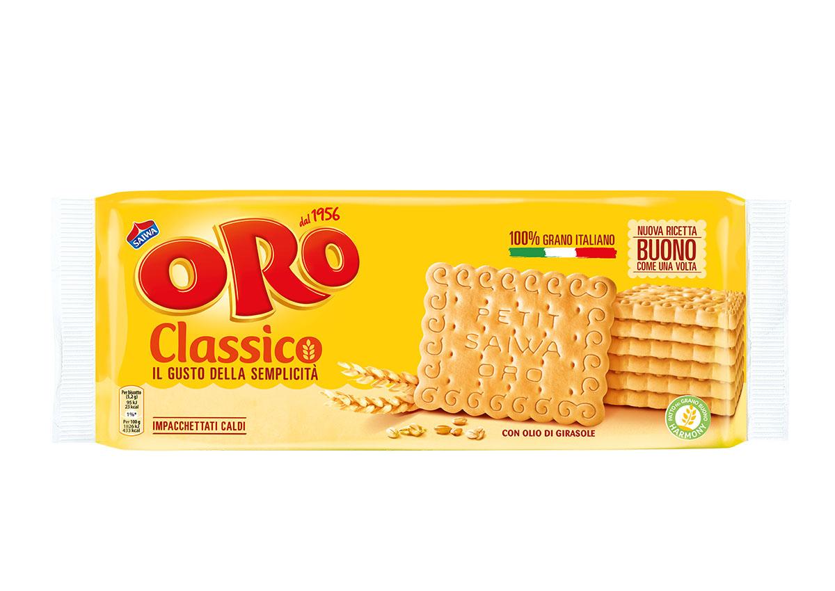 Oro Saiwa Classico, da oggi solo grano 100% italiano