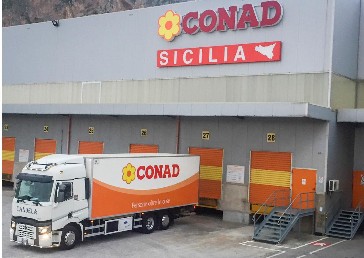 Conad Sicilia investe sulla logistica