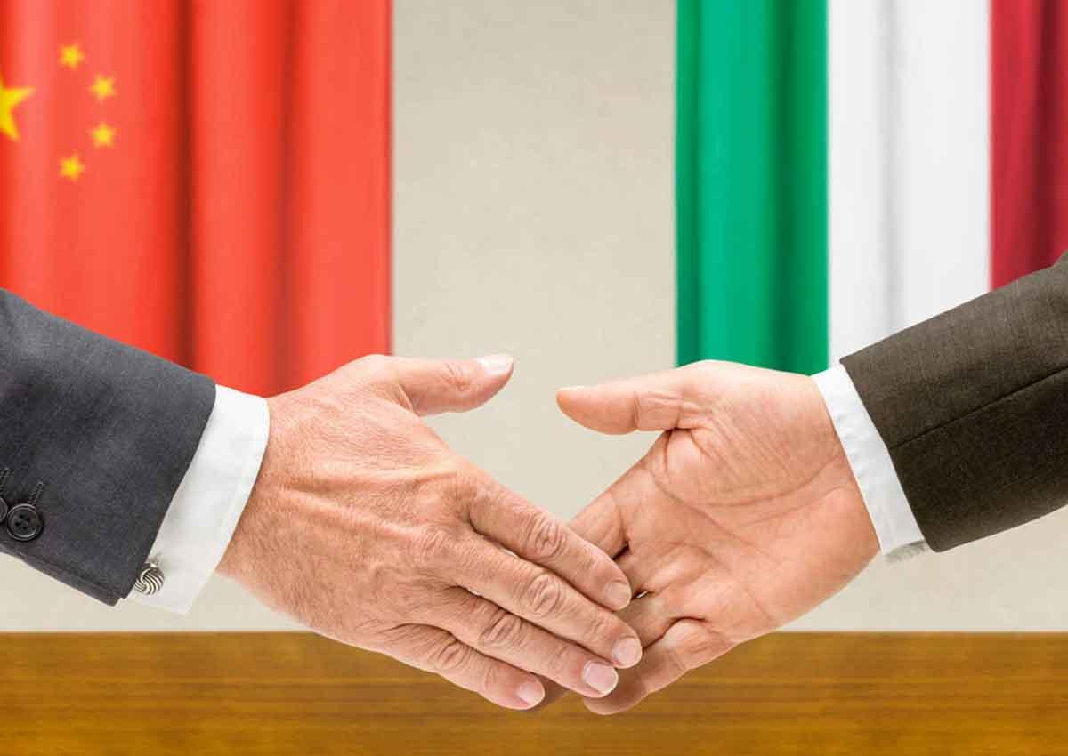L'export italiano in Cina tocca i 450 mln di euro