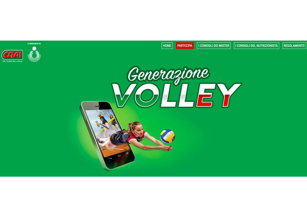 'Generazione Volley', il nuovo concorso di Crai