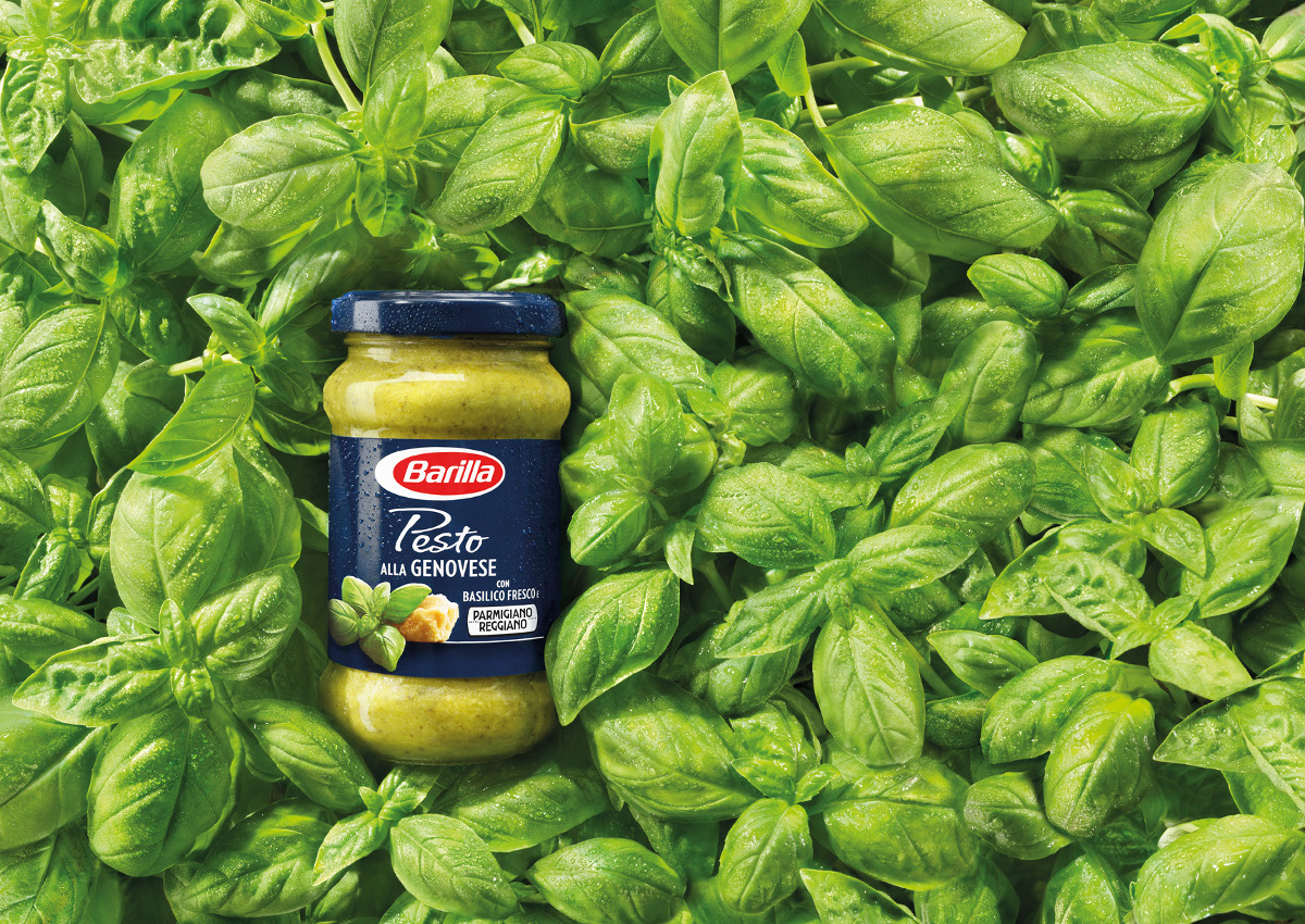 Basilico e Parmigiano nel nuovo 'Pesto  alla genovese' Barilla