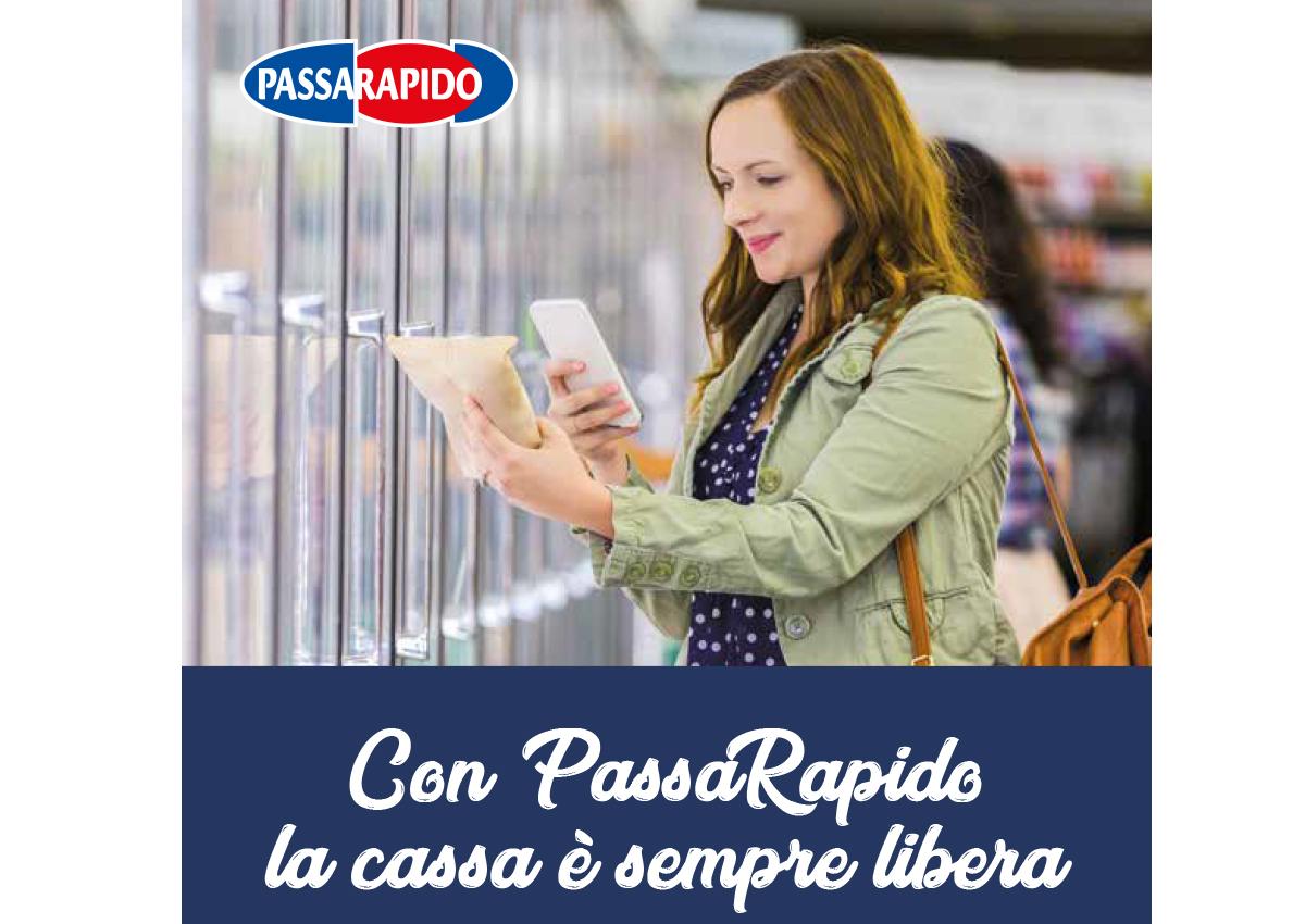 Carrefour velocizza la spesa con PassaRapido