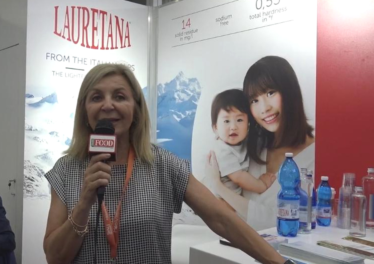 Lauretana, l'acqua protagonista a Sial China