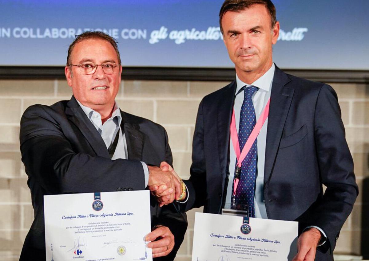 Carrefour Italia e Coldiretti insieme per il made in Italy