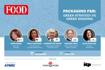 Packaging F&B – Green strategy vs green washing