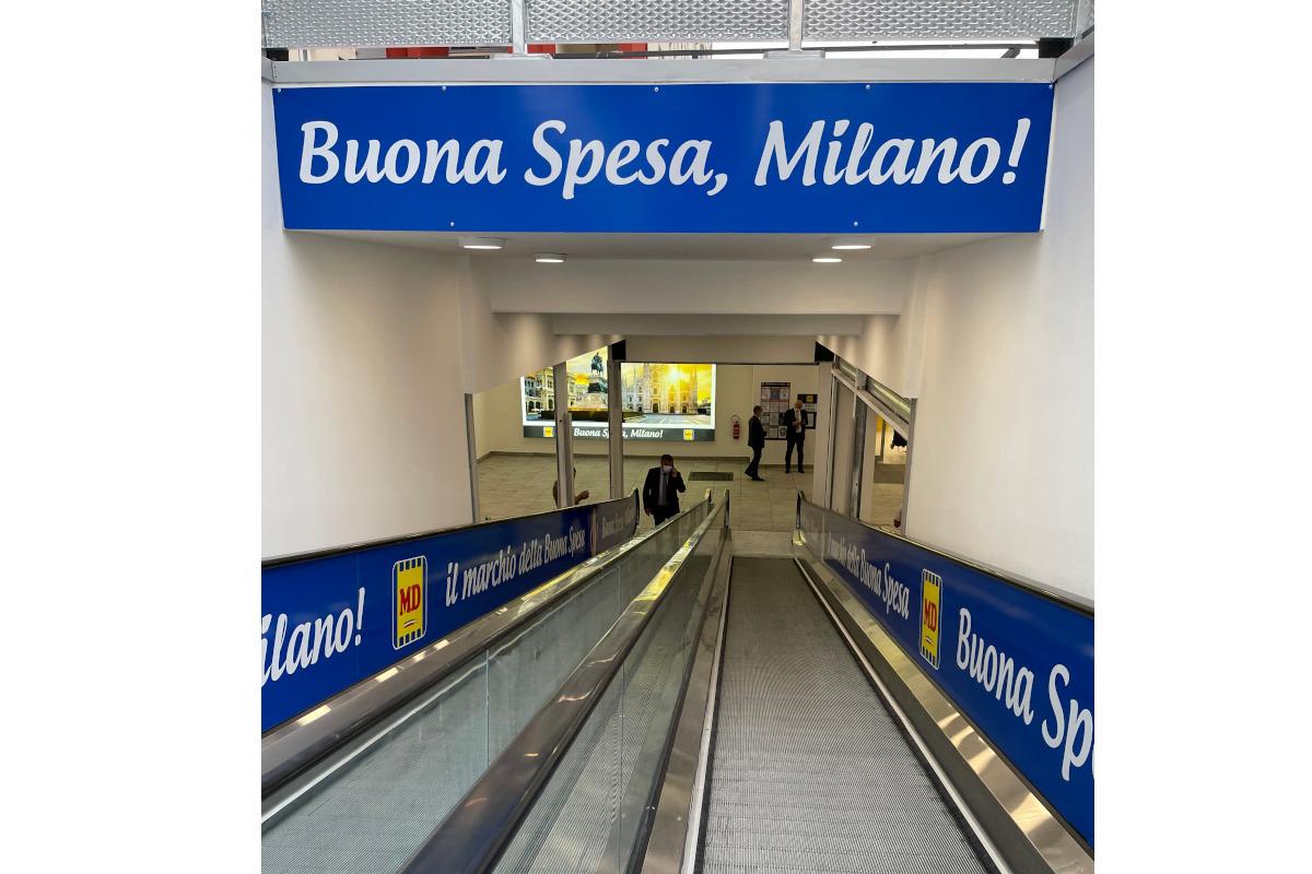 Una nuova apertura a Milano per MD
